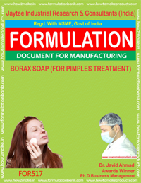 Borax Soap for Pimple Treatment formula 517