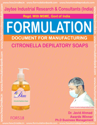 Centronilla Depilatory Soap Formula 518