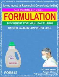 NATURAL LAUNDARY SOAP (FORMULA 542 )