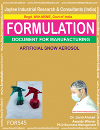 ARTIFICAL SNOW AEROSOL (FORMULA 545 )