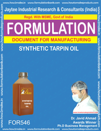 SYNTHETIC TARPIN OIL (FORMULA 546 )