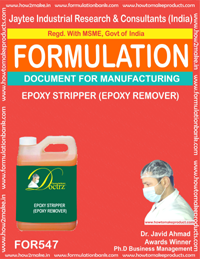 Epoxy stripper Formulation (for547)