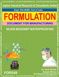 SILICON MASONARY WATERPROOFING (FORMULA 548 )