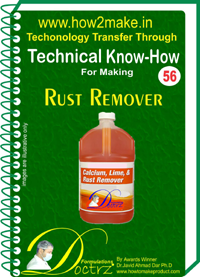 Technical knowHow for making mild rust remover (TNHR 56)