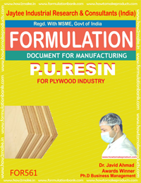 P.U.Resin used for Plywood(formula 561)