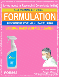 Biocidal hard surface cleaner(for 562)