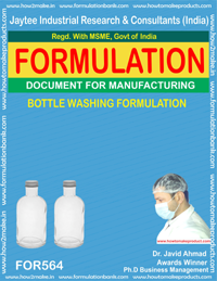BOTTLE WASHING FORMULA (FORMULA 564)