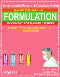 BREWARY WASHING CONCENTRATE COMPOUND (FORMULA 565)