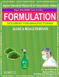 ALGAE AND MOULD REMOVER (FORMULA 572)