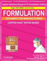 Copper Paint Water Based (Formula 589)