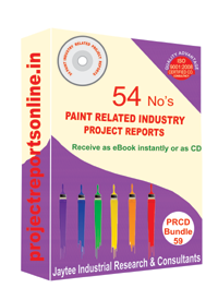 Paint Industry Related 54 Project Reports [CD59