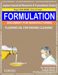 Flushing Oil For Engine Cleaning (Formula 593)