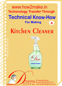 Technical knowHow report for Kitchen cleaner(TNHR 6)