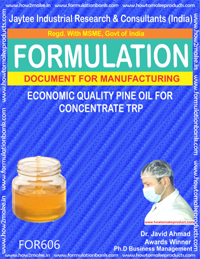 Economic quality pine oil for concentrate TRP (FOR 606)