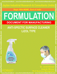 Anticpectic Surface Cleaner Trizol Type (Formula