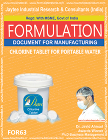 Chlorine Tablet For Portable Water