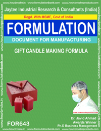 Gift Candle Making Formula (for643)