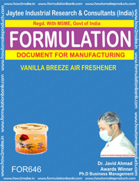 Vanilla Breeze Air Freshener (FORMULA 646 )