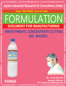 White Phenyl Concentrate Cutting Oil Based (FOR65)