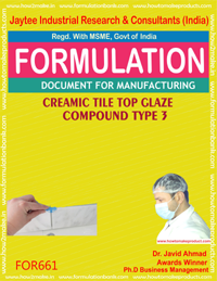 CERAMIC TILE TOP GLAZE COMPOUND type 3 (FORMULA 661)