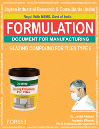 GLAZING COMPOUND FOR TILES TYPE 5 (FORMULA 663)