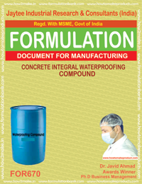CONCRETE INTEGRAL WATERPROOFING COMPOUND (FOR 670