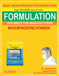 WATER PROOFING POWDER (FORMULA 694)