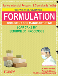 SOAP CAKE SEMI BOILED PROCESS (FORMULA 695)