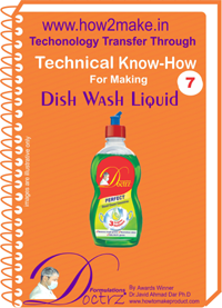 TECHNICAL KNOW-HOW REPORT FOR MAKING DISH WASH LIQUID