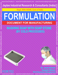 WASHING SOAP WITH SOAP STONE (FORMULA 702))