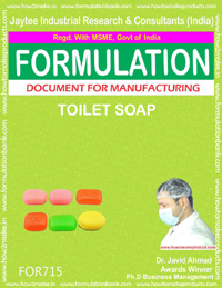 FORMULA FOR TOILET SOAP (FORMULA 715)