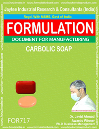FORMULA FOR CARBOLIC SOAP (FORMULA 717)