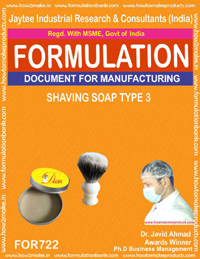 FORMULA FOR SHAVING SOAP TYPE-3 (FORMULA 722)
