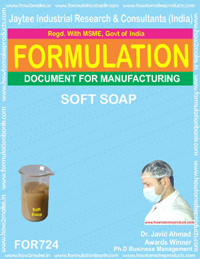 FORMULA FOR SOFT SOAP (FORMULA 724)