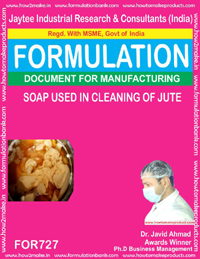FORMULA FOR SOAP USAED IN BLEACHING OF JUTE (FORMULA 727)