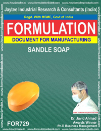 FORMULA FOR SANDLE SOAP (FORMULA 729)