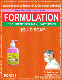 FORMULA FOR LIQUID SOAP (FORMULA 731)