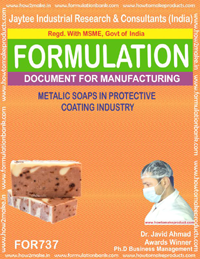 METALIC SOAPS IN PROTECTIVE COATING INDUSTRY (FORMULA 737)