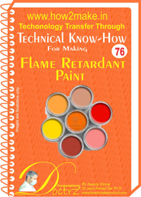 Technical knowHow report for making flame retardant paint (TNHR