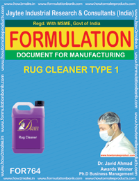 RUG CLEANER TYPE 1 (FORMULA 764)
