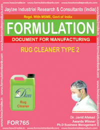 RUG CLEANER TYPE 2 (FORMULA 765)