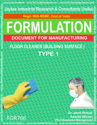 FLOOR CLEANER BUILDING SURFACE TYPE 1 (FORMULA 766)