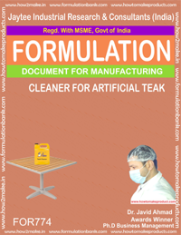 ARTIFICIAL TEAK CLEANER (FORMULA 774)