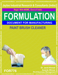 PAINT BRUSH CLEANER (FORMULA 776)
