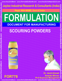 FORMULA FOR SCOURING POWDER (FORMULA 778)