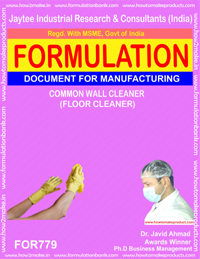 COMMON WALL CLEANER (FLOOR CLEANER) (FORMULA 779)