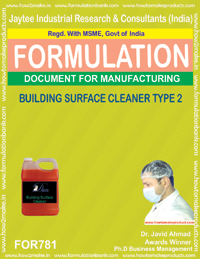BUILDING SURFACE CLEANER TYPE 2 (FORMULA 781)