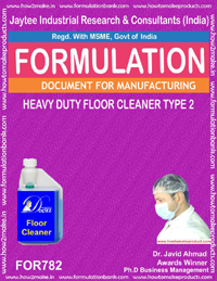 LIGHT DUTY CLEANER POWDER (FLOOR CLEANER) TYPE 2 (FORMULA 782)