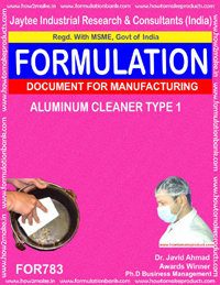 ALUMINIUM CLEANER TYPE 1 (FORMULA 783)