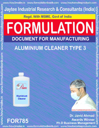 ALUMINIUM CLEANER TYPE 3 (FORMULA 785)